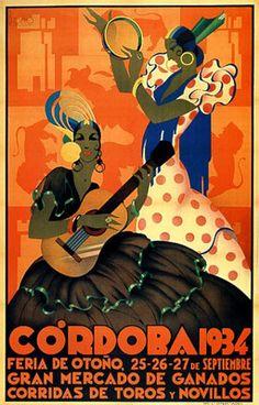 Córdoba 1934. Feria de Otoño.