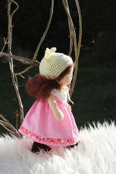 Waldorf  doll  Steiner Waldorf Organic doll Waldorf toy Waldorf cloth doll Buy waldorf doll Rag Wool doll Waldorf inspired doll