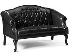 Traditional Queen Anne Sofa ~ $1275.99 by Global Total Office at OfficeFurnitureDeals.com