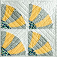 Sew Kind Of Wonderful: Curve It Up Challenge using a specialty rotary ruler