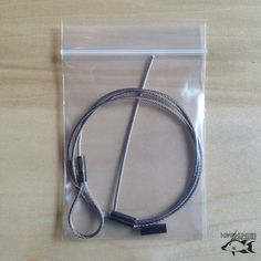 This cable replacement kit restores the cable on your Showstopper Slip Tip and the cable loop on your Predator pole spears. Tough As Nails, Stainless Steel Cable, Predator, Kit, Products, Gadget