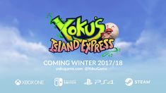 Yoku's Island Express - May 29th / PC, PS4, Xbox One, Switch