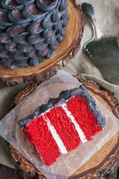 Use this simple decorating technique to create the perfect red velvet Dragonscale Cake and impress your Game of Thrones loving friends! Bolo Red Velvet, Velvet Cake, Easy Healthy Breakfast, Breakfast For Kids, Game Of Thrones Cake, Cake Games, Fun Cupcakes, Wedding Cupcakes, Cake Decorating Techniques