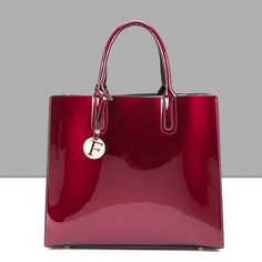 Bright Solid Patent Leather Women Fashion Bags Ladies Simple Luxury Handbags Casual Shoulder Messenger Bags Sac A Main Tote bag - Сумки, Рюкзаки - Fashion Handbags, Fashion Bags, Women's Handbags, Luxury Handbags, Style Fashion, Ladies Handbags, Satchel Handbags, Designer Handbags, Purses