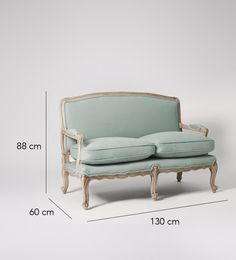 Lille Two-seater Sofa   Swoon Editions
