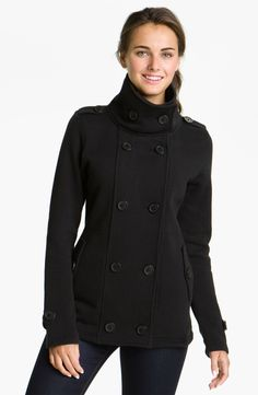 The North Face 'Taluma' Fleece Peacoat