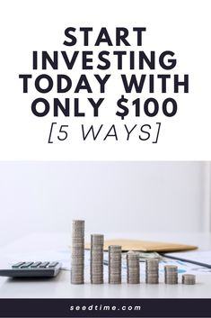 When it comes to investing, you don't need thousands of dollars to begin investing in your future. I have found. 5 ways to get started investing with little money. If you're new to investing, this is a great read on investing for beginners. #investingforbeginners #investing #begginerinvesting #investingmoney #investingwithlittlemoney #seedtime