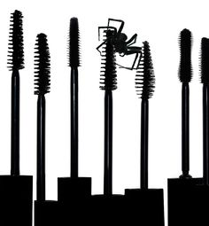 NATASHA V. PHOTOGRAPHY - Cosmetics- When lashes are like spiders legs!  Great idea and love this shot!