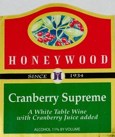 NV Honeywood Winery Cranberry Supreme Fruit Wine 750 mL >>> You can find more details by visiting the image link.