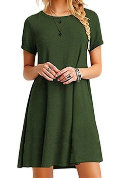 YMING Damen Casual Langes Shirt Lose Tunika Kurzarm T-Shirt Kleid 24  Farbe,XS-XXXXL(32-50) - AmazingMarket.de 026b747c6b
