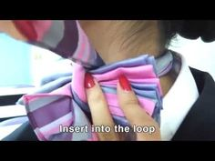 (37) How to tie a scarf - YouTube