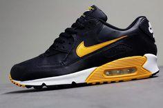 Nike Air Max 90-Black-Canyon Gold-White