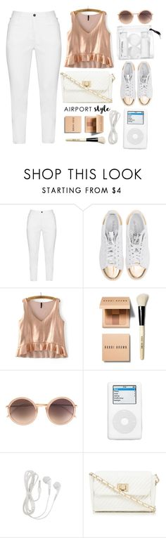 """""""Chilled outfit"""" by rastaress-motso ❤ liked on Polyvore featuring Zhenzi, adidas Originals, Bobbi Brown Cosmetics, Linda Farrow, Red Herring and H&M"""