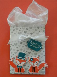 'Foxy Friends', 'Fox Builder Punch', 'Mini Treat Bag Thinlits',  'Snow Place', Stampin'Up! , www.stamp-ing.blogspot.nl  , Stamp-ing Rilland..