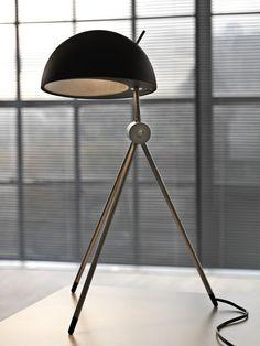 Tripodic Dome Lamp.
