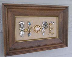 Framed Jewelry Art HOPE Sign by Carolyn   TheBartlettPair - Housewares on ArtFire