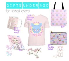 CHRISTMAS GIFTS IDEAS UNDER $20 for kawaii lovers