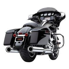 Black Ciro Passenger Drink Holder Compatible for Harley-Davidson Electra Glide Police 2018
