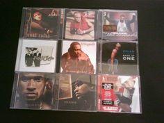 Lot of 9 cds r&b Usher Joe R Kelly Ginuwine and More authentic cds #soulmusic #urbanmusic #usher