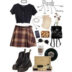 Saturday night 🥀 – c l o t h e s – Grunge Retro Outfits, Cute Casual Outfits, Grunge Outfits, Grunge Fashion, Fall Outfits, Vintage Outfits, Summer Outfits, Fashion Outfits, Aesthetic Fashion