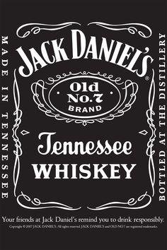 jack daniels #vintage, label, whiskey, antique, design