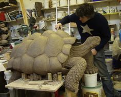 The Art Market: David Cooke | Awesome tortoise sculpture...looks so real