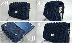 Pochette Nocciolina designed by Katy Handmade Crochet bag - uncinetto