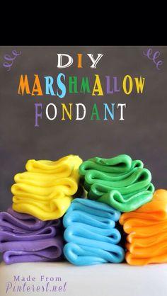 DIY Marshmallow Fondant #Food #Drink #Trusper #Tip
