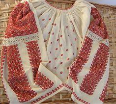 4 elemente clare să recunoști o ie românească autentică Folk Embroidery, Ukraine, Costumes, Blouse, Clothing, Jewelry, Tops, Women, Fashion