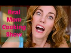 Real mom cooking show video by the viral video queen deva dalporto Funny Blogs, Funny Mom Memes, Dad Humor, Funny Stuff, Show Video, Parenting Memes, Viral Videos, Suckers, Cooking