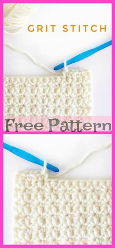 10 Crochet Basic Stitches - Free Patterns For those of you who want to learn crochet stitches, here they are. These Crochet Basic Stitches will certainly be useful for later designs, and you can Crochet Crocodile Stitch, Different Crochet Stitches, Crochet Stitches Free, Knit Or Crochet, Knitting Stitches, Free Crochet, Knitting Patterns, Stitch Patterns, Crochet Dishcloths Free Patterns