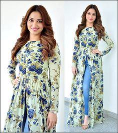 Frock Fashion, Women's Fashion Dresses, Indian Designer Outfits, Designer Dresses, Dress Paterns, Two Piece Evening Dresses, Dress Over Jeans, Kids Dress Wear, Lehnga Dress