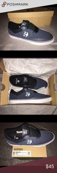 341fa49702 Men s Etnies skate shoes. Navy blue men s size Etnies Shoes Athletic Shoes