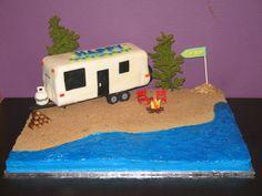 RV/Camping Cake Flying B Cakes