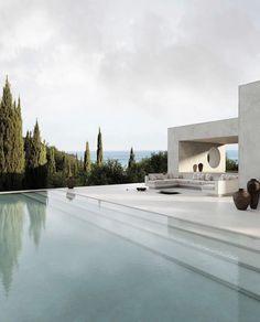 Dream Home Design, Home Interior Design, House Design, Interior Decorating, Decorating Ideas, Rock Bedroom, Architecture Design, Decoration Inspiration, Pool Designs