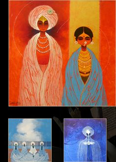 Vijayraj Bodhankar- positive waves Om Namah Shivaya, Amazing Paintings, Indian Paintings, Poster Rangoli, Indian Contemporary Art, Indian Theme, India Art, Art World, Figurative Art
