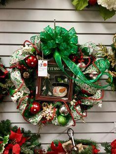 Christmas wreaths 2016 at Silk Florals