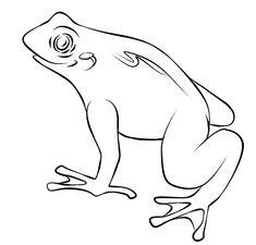 frog and toad coloring pages on computers | rana verde para colorear - Buscar con Google | Repujado ...
