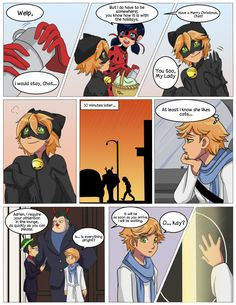 Project: Miraculous Ladybug If you click visit you can see the whole story probably. It was cute