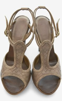 Bottega Veneta Brown Sandal