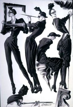 Antonio Lopez, Fashion Illustrator
