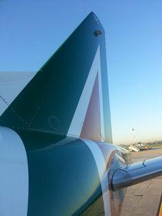Embraer E-175 Alitalia LIN-BCN| Follow civil aviation on AerialTimes. Visit our boards on Pinterest at www.pinterest.com/aerialtimes or like us on www.facebook.com/aerialtimes