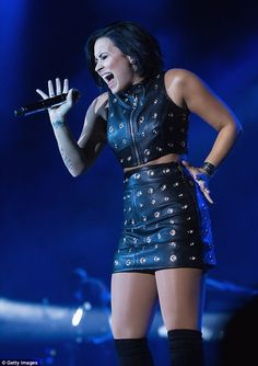 Hello! Demi Lovato performed Adele's hit at the 106.1 KISS FM Fall Ball on Saturday in Seattle