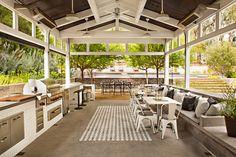 Wedding Barn Design Plans 54 New Ideas Outdoor Living Rooms, Outdoor Dining, Patio Dining, Porches, Pergola Patio, Vinyl Pergola, Backyard Decks, Gazebo, Weatherboard House