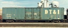 DTI 25296 60' Boxcar  Detroit, Toledo & Ironton Railroad Series:  Builder: Greenville Steel Car  Acquired:  History:  Renumbered:  Retired:Photographer: Jurgen Kleylein