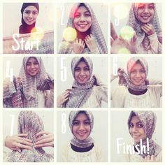 I have written Turkish hijab tutorial step by step for girls who want to adopt classy Turkish hijab style. These Turkish Hijab style steps are very easy. Turkish Hijab Style, Turkish Fashion, Abaya Fashion, Modest Fashion, Turkish Hijab Tutorial, Muslim Faith, Scarf Styles, Hijab Styles, Simple Hijab