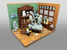 Lego Room Design Ideas – How to build it Lego Table Ikea, Lego Minecraft, Minecraft Skins, Minecraft Buildings, Lego Display, Lego Boards, Lego Room, Lego Modular, Cool Lego Creations