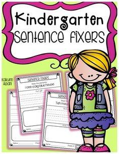40 Best Sentence Work Images Sentences Teaching Reading Writing
