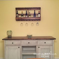 Sideboard with wine rack - Sofia Amelia Home