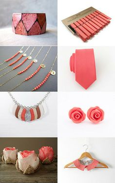 :: coral bay :: by MUSA on Etsy--Pinned with TreasuryPin.com